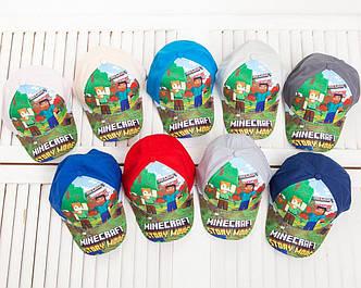 Детская летняя кепка для мальчика оптом - Майнкрафт