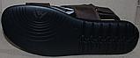 Босоножки мужские кожаные от производителя модель АМБ04, фото 4