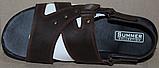 Босоножки мужские кожаные от производителя модель АМБ04, фото 3