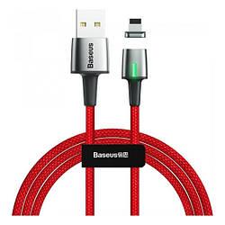 Кабель USB (тато) = Apple Lightning (тато) 1 м Baseus Zinc Magnetic Cable CALXC-A09 Red