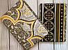 Евро  комплект двухспального  постельного белья в классическом  дизайне, фото 2