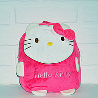 Детский рюкзак мягкий Hello Kitty розовый
