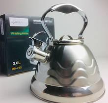 Чайник со свистком Rainberg RB-723 (12 шт/ящ)
