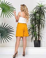 Жіночі Жіночі шорти в великих розмірах з гумкою на талії і високою посадкою 51mbr685