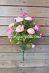 Искусственные цветы - Камелия букет, 43 см
