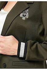 Костюм женский красный брючный размеры:48-58, фото 3