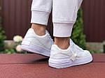 Женские кроссовки Nike Air Force 1 Shadow (белые) 9475, фото 2
