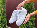 Женские кроссовки Nike Air Force 1 Shadow (белые) 9475, фото 3