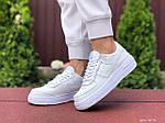Женские кроссовки Nike Air Force 1 Shadow (белые) 9475, фото 4