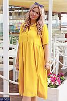 """Платье-рубашка женская летнее мод. 1140 (48-50) """"ALICIA"""" недорого от прямого поставщика AP, фото 1"""