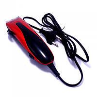 Машинка для стрижки волос Gemei GM-1012 Черный с красным (44686)