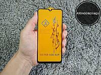Защитное стекло 6D ПОЛНЫЙ КЛЕЙ для Samsung Galaxy M31 черное