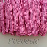 Шапочки одноразовые Розовые