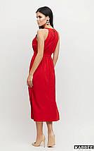 Платье длины ниже колена прямого кроя с открытыми плечами /разные цвета, S-L, KR-Бритни/, фото 3