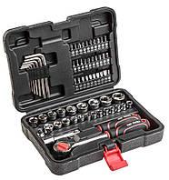 Акция! Набор торцевых гаечных ключей Top Tools 3/8, 63 ед. (38D515) [Скидка 3%, при условии 100% предоплаты!]