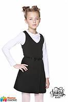 Школьный сарафан Lukas 8210, цвет черный