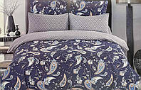 Двуспальный комплект постельного белья 180*220 сатин (13952) TM КРИСПОЛ Украина