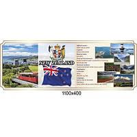 Стенд оформление кабинета английского языка Новая Зеландия