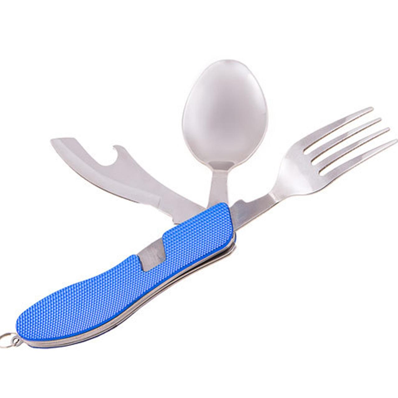 Вилка,ложка,нож+открывашка 3*1 HX-12