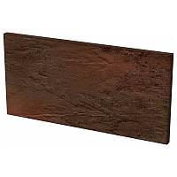 Клинкерная плитка Paradyz Semir brown подступенок 14,8*30 см