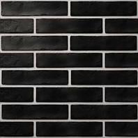 Клинкерная плитка Golden Tile Brickstyle The Strand 08С020 25*6*1 черная