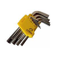 Набор Г-образных ключей HEX Сталь 48101 1,5-10 мм 9 шт