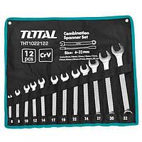 Комплект ключей комбинированных Total Tools THT1022122 12 шт