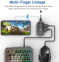 Переходник для клавиатуры и мышки для телефона подставка конвертер джойстик Android геймпад PUBG Mix Pro