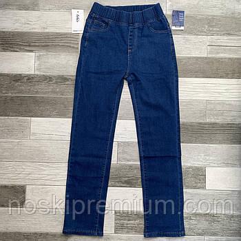 Джинсы женские Kenalin, с карманами, синие, размер 32, 9542