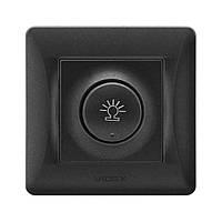 Светорегулятор поворотный VIDEX Binera VF-BNDM600-BG 600 Вт черный графит