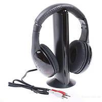 Беспроводные наушники MH 2001 5в1 Hi-Fi S-XBS Wireless Headphone.
