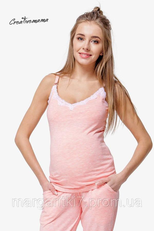 Майка для беременных и кормящих Creative Mama Peach coton (хлопок)