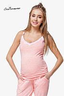 Майка для беременных и кормящих Creative Mama Peach coton (хлопок), фото 1
