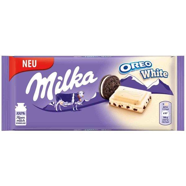 Молочный шоколад Milka White Oreo 100 g