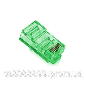 Конектор Noname RJ-45 8P8C UTP Cat-5 (100 шт / уп.) Q100 Green