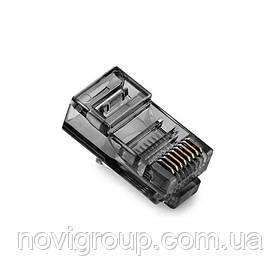 Конектор Noname RJ-45 8P8C UTP Cat-5 (100 шт / уп.) Q100 Чорний