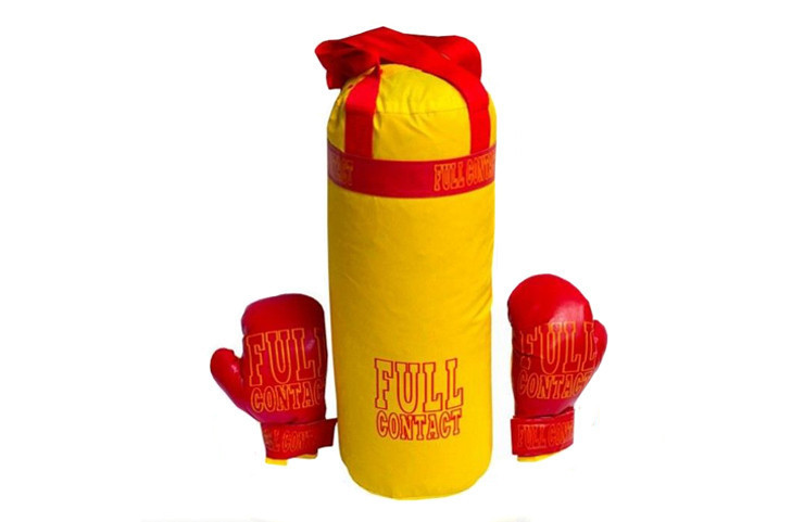 """Боксерский набор для детей  (груша и перчатки)  """"Full""""   0004DT"""