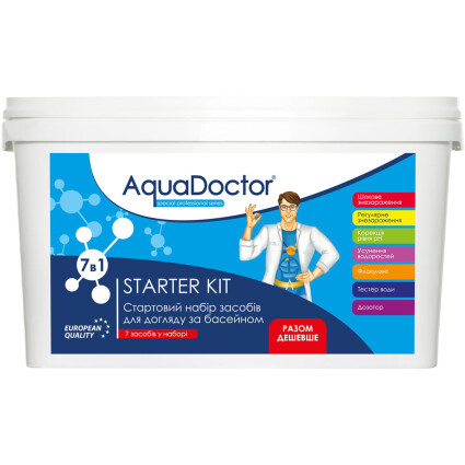 AquaDoctor Стартовый набор для бассейна AquaDoctor Starter Kit