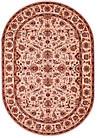 Коврик европейская классика IMPERIA 8319A 0,8Х1,5 КРЕМОВЫЙ овал, фото 2