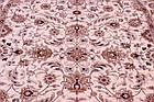 Коврик европейская классика IMPERIA 8319A 0,8Х1,5 КРЕМОВЫЙ овал, фото 4
