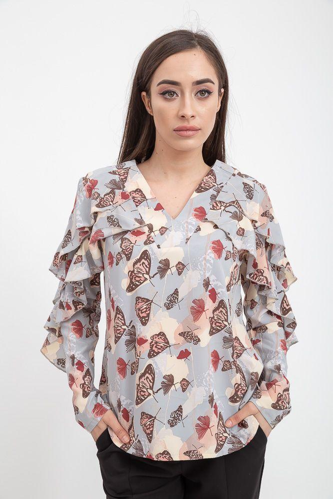 Блуза женская 115R317S цвет Серый