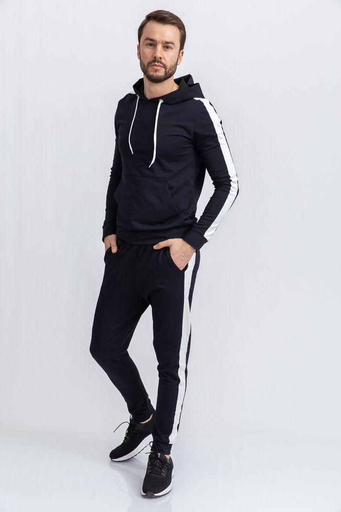 Спорт костюм мужской 102R034 цвет Темно-синий
