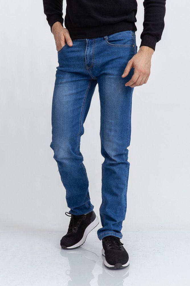Джинсы мужские 129R6010 цвет Синий