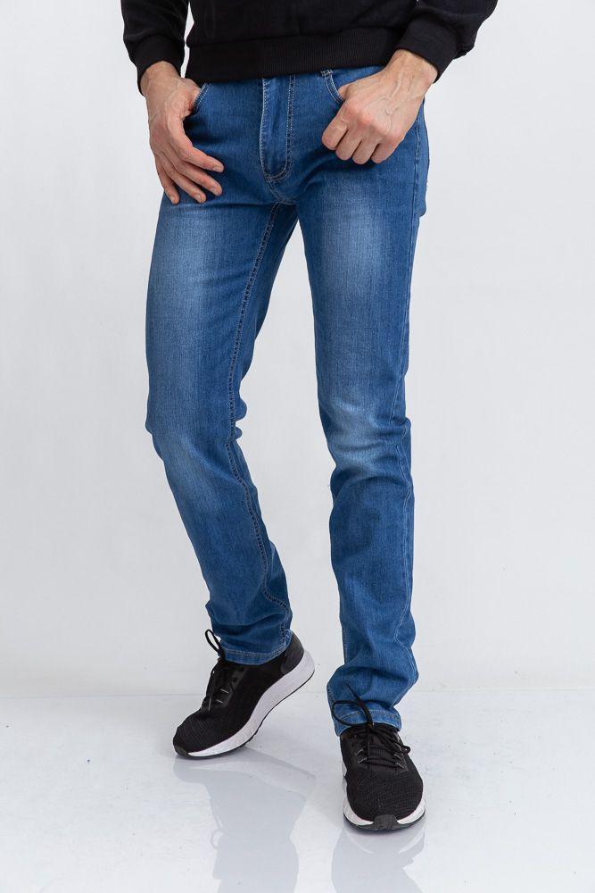 Джинсы мужские 129R6006 цвет Синий