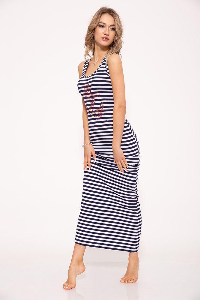 Платье 104R232F цвет Сине-белый