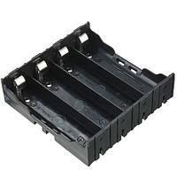 Батарейный отсек 18650*4шт (3,7-14,8В) на плату