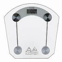 Напольные стеклянные электронные весы для точного измерения собственного веса до 180 кг ACS 2003, фото 1