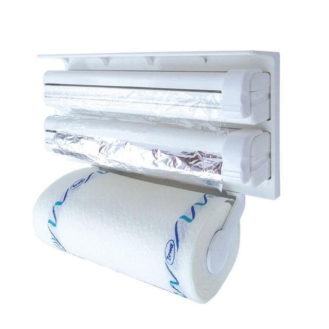 Кухонный диспенсер для бумажных полотенец, фольги и пищевой пленки Dispenser