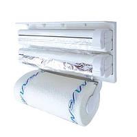 Кухонный диспенсер для бумажных полотенец, фольги и пищевой пленки Dispenser, фото 1