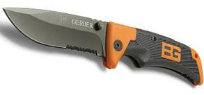 Туристичний складаний ніж з чохлом | кишеньковий ніж Gerber Bear Grylls (Репліка)